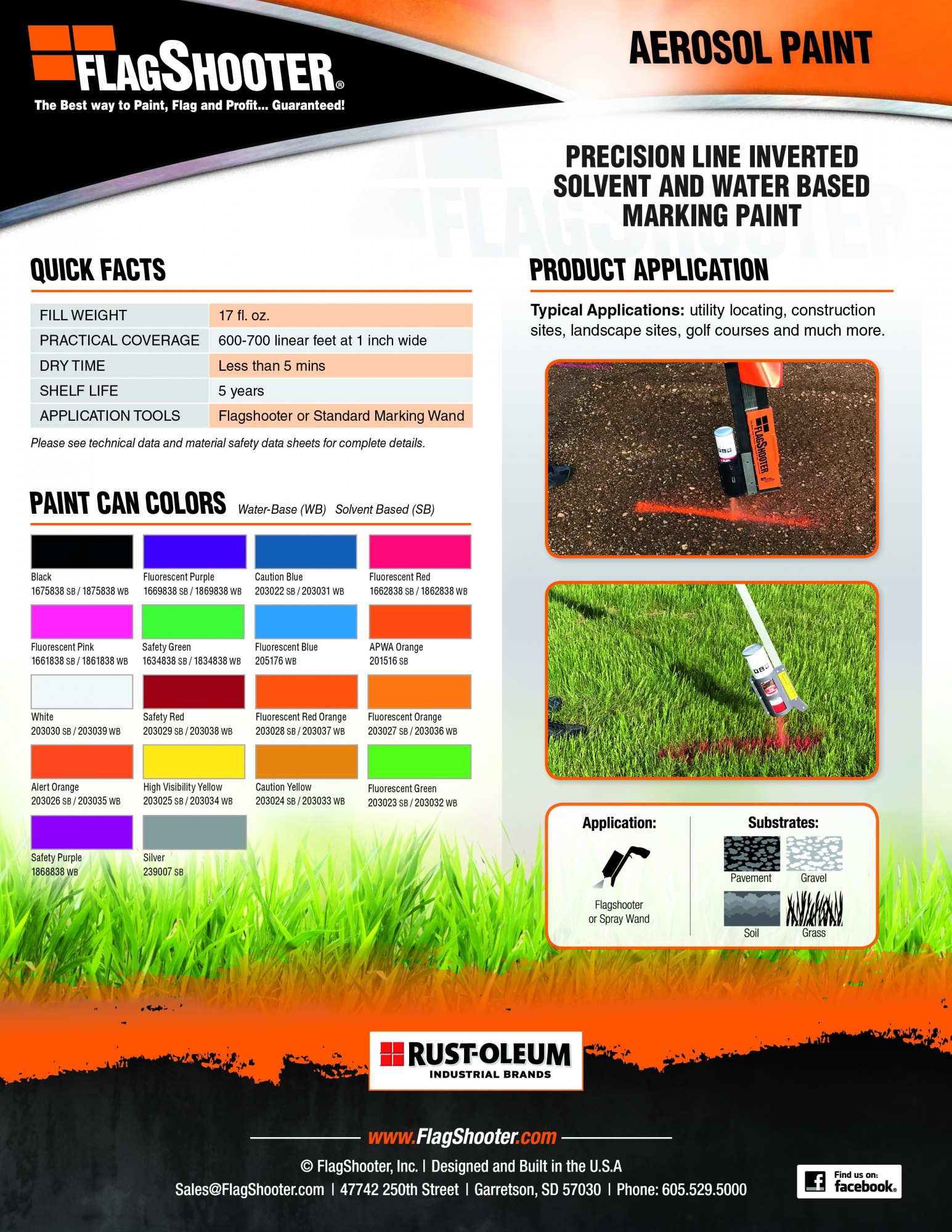 Aerosol Marking Paint for your Flagshooter