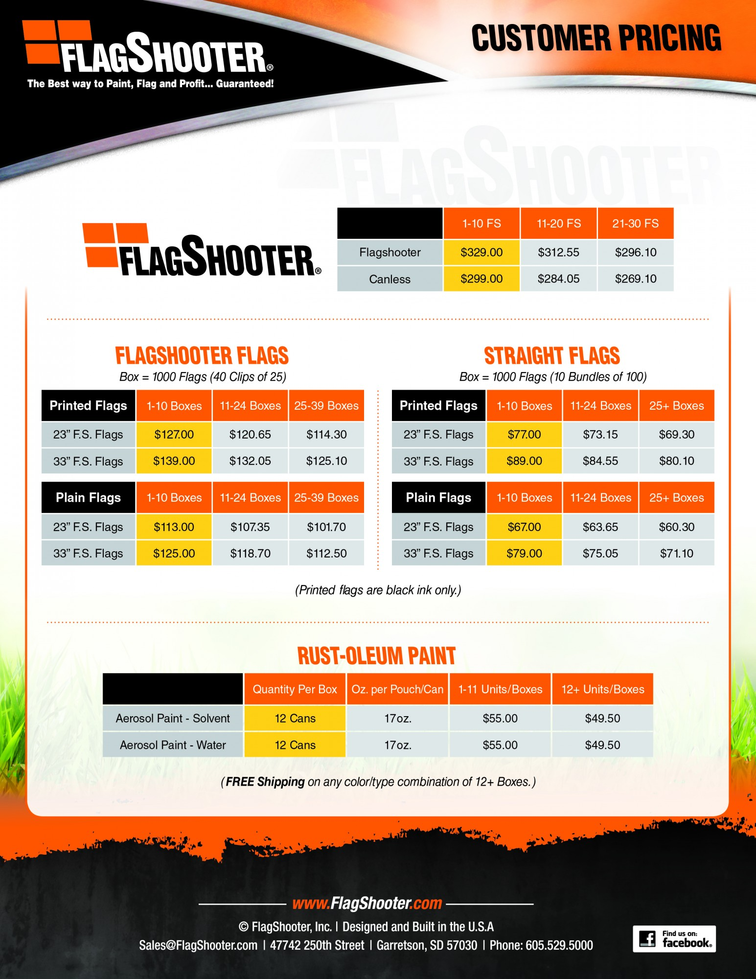Flagshooter Bundles and Special Flagshooter Pricing